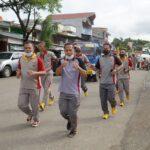 Jaga kondisi personil tetap bugar Polres Toraja Utara lakukan Olahraga Jumat Sehat